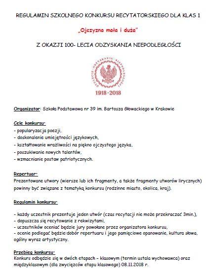 Szkoła Podstawowa Nr 39 W Krakowie